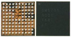 تصویر آی سی شارژ SM5705 سامسونگ CHARGING IC SM5705 SAMSUNG