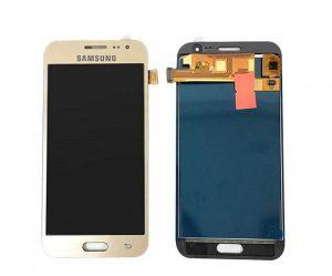تصویر ال سی دی شرکتی J3 PRO سامسونگ طلایی LCD SAMSUNG GALAXY J3 PRO GOLD