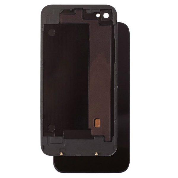 درب-Back-Cover-of-Housing-for-Apple-iPhone-4-Black-Complete