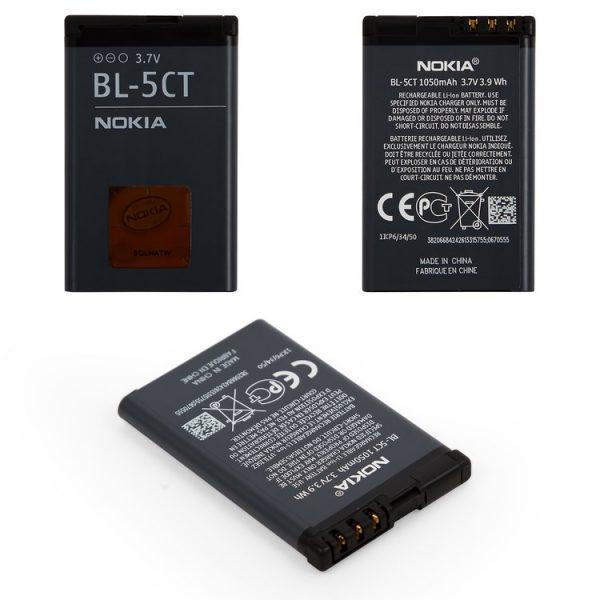 باتری-Battery-BL-5CT-for-Nokia-3720c-5220c-6303-6303i-6730c-C3-01-C5-00-C6-01-Cell-Phones-Li-ion-3.6V-1050mAh