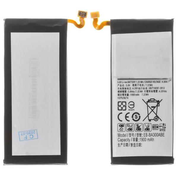 Battery-EB-BA300ABE-compatible-with-Samsung-A300-Galaxy-A3-Li-ion-3.8-V-1900-mAh-باتری