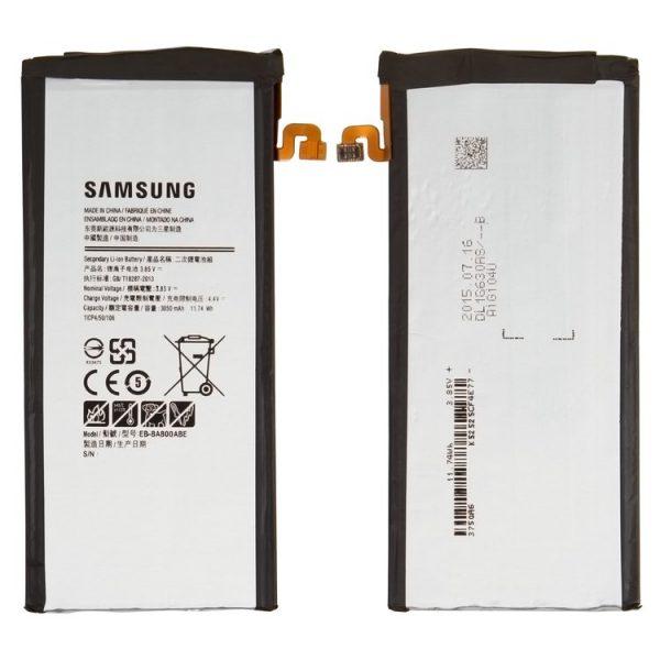 باتری-Battery-EB-BA800ABE-for-Samsung-A800-Dual-Galaxy-A8-Cell-Phone-Li-ion-3.85V-3050-mAh