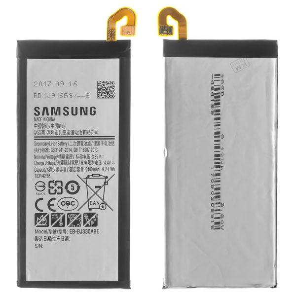 باتری-Battery-EB-BJ330ABE-for-Samsung-J330F-Galaxy-J3-2017-Cell-Phone-Li-ion-3.85-V-2400-mAh
