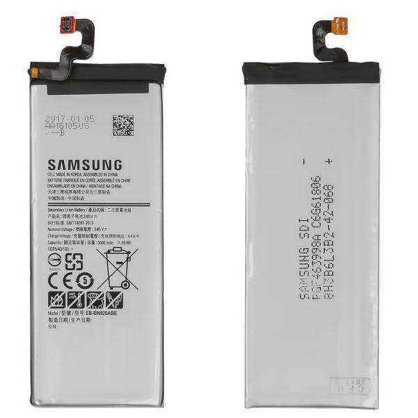 باتری-Battery-EB-BN920ABE-for-Samsung-N9200-Galaxy-Note-5-Cell-Phone-3000-mah-3.85-v-Li-ion