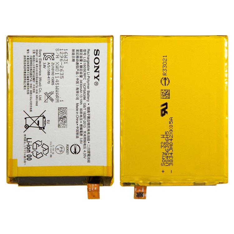 Battery-LIS1605ERPC-for-Sony-E6833-Xperia-Z5plus-Premium-Dual-E6853-Xperia-Z5plus-Premium-E6883-Xperia-Z5plus-Premium-Dual-Cell-Phones-Li-Polymer-3.8-v-3430-mAh
