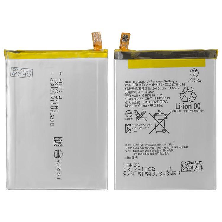 Battery-LIS1632ERPC-for-Sony-F8331-Xperia-XZ-F8332-Xperia-XZ-Cell-Phones-Li-Polymer-3.8-V-2900-mAh-1305-6549
