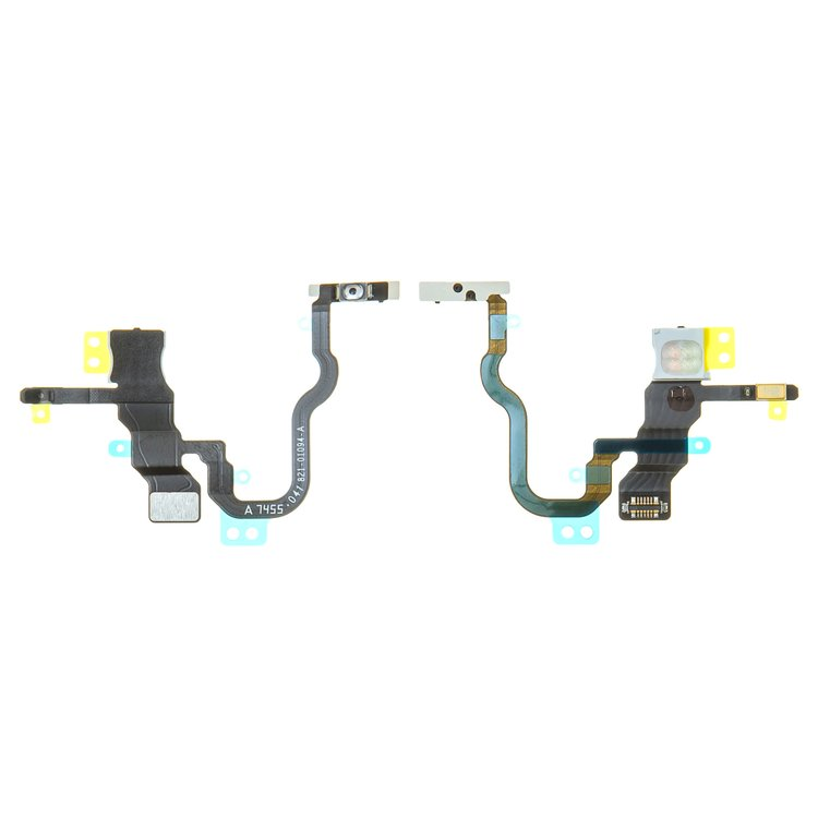 Flat-Cable-for-Apple-iPhone-X-Cell-Phone-start-button-with-components