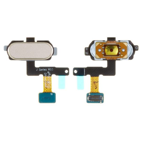Flat-Cable-for-Samsung-J530F-Galaxy-J5-2017-J730F-Galaxy-J7-2017-Cell-Phones-menu-button-golden-with-plastic