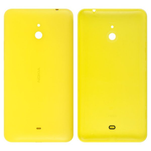 Housing-Back-Cover-for-Nokia-1320-Lumia-Cell-Phone-yellow-with-side-button