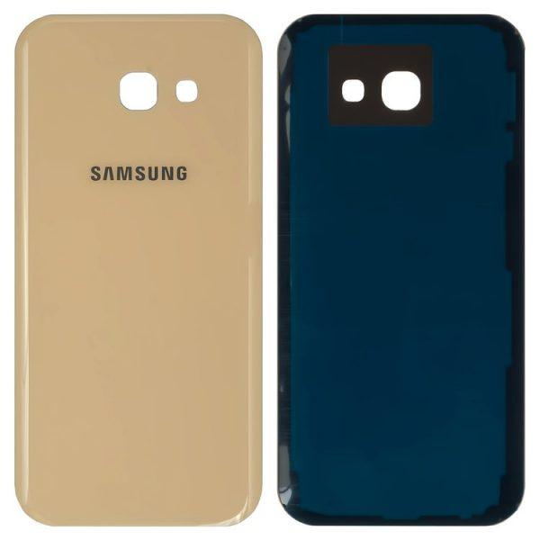 درب-پشت-Housing-Back-Cover-for-Samsung-A520F-Galaxy-A5-2017-Cell-Phone-golden
