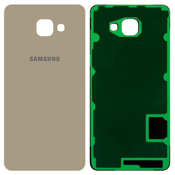 Housing-Back-Cover-for-Samsung-A710-Galaxy-A7-2016-Cell-Phone-golden