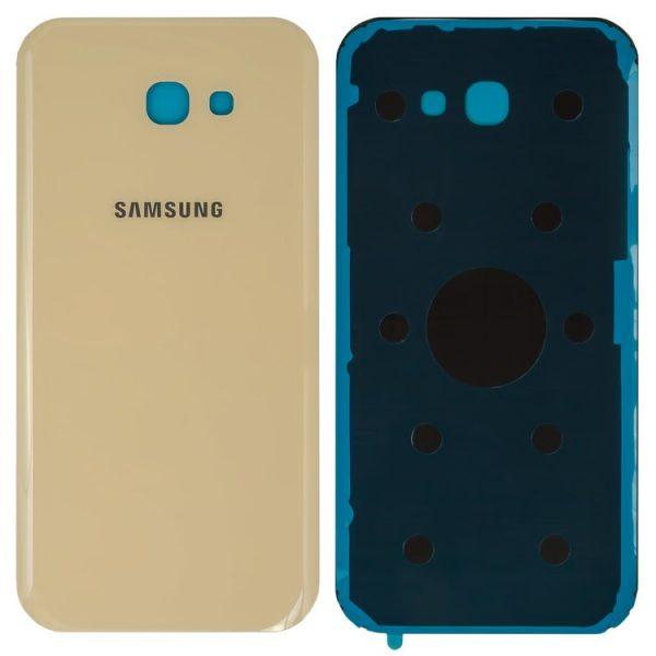 درب-پشت-Housing-Back-Cover-for-Samsung-A720F-Galaxy-A7-2017-Cell-Phone-golden