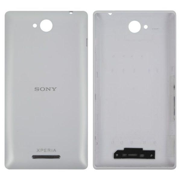 درب-پشت-Housing-Back-Cover-for-Sony-C2305-S39h-Xperia-C-Cell-Phone-white