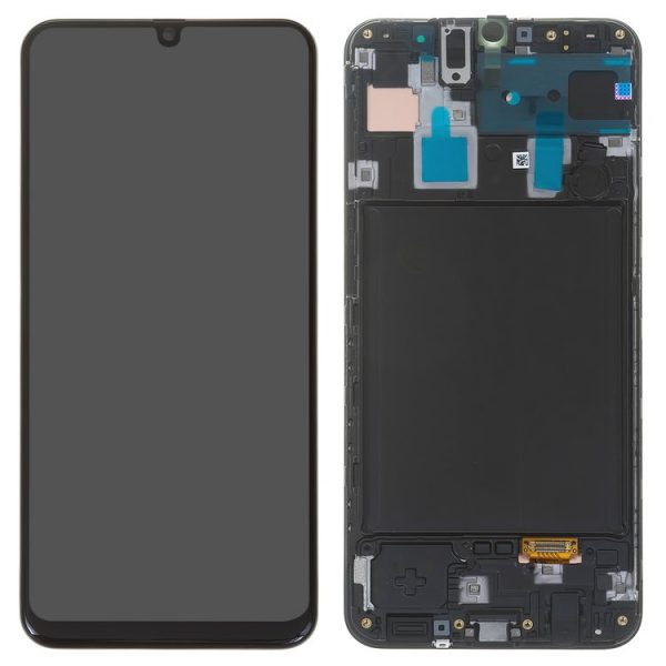 LCD-Samsung-A305F-DS-Galaxy-A30-black-with-frame-Original-GH82-19202A