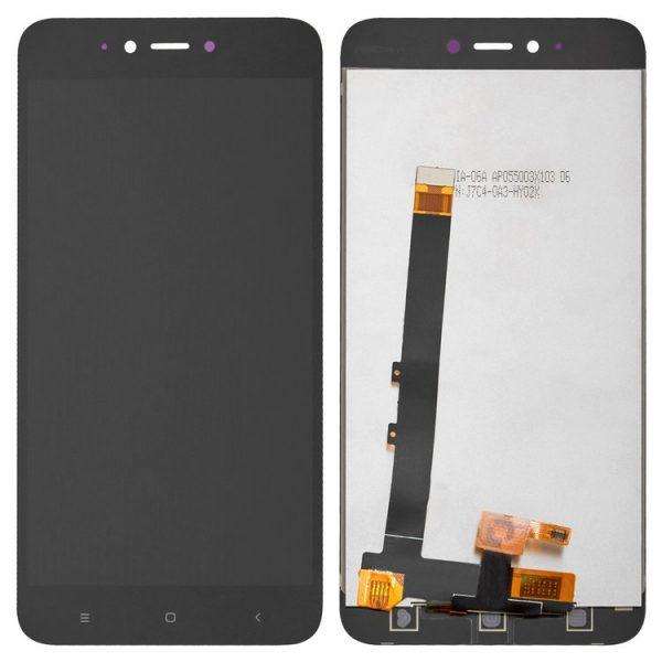تصویر ال سی دی شیائومی ردمی نوت 5A مشکی LCD REDMI Note 5A Black XIAOMI