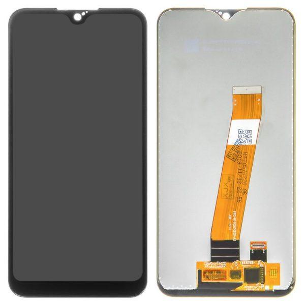 ال سی دی-LCD-compatible-with-Samsung-A015-Galaxy-A01-black-with-touchscreen-Original-PRC-original-glass