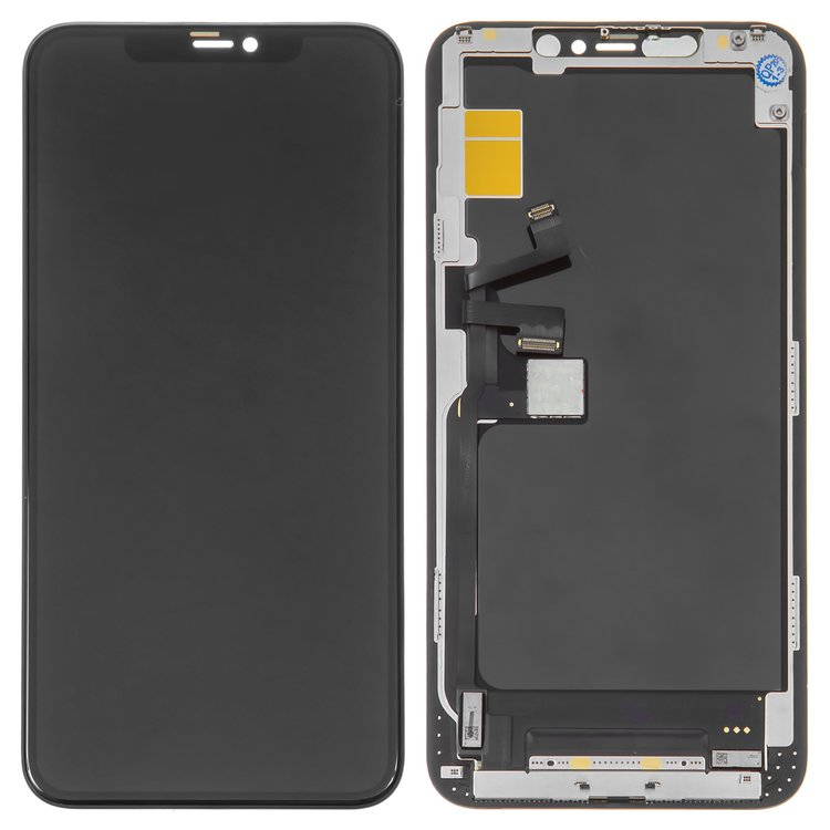 LCD-compatible-with-iPhone-11-Pro-Max-black-with-touchscreen-with-frame-HC