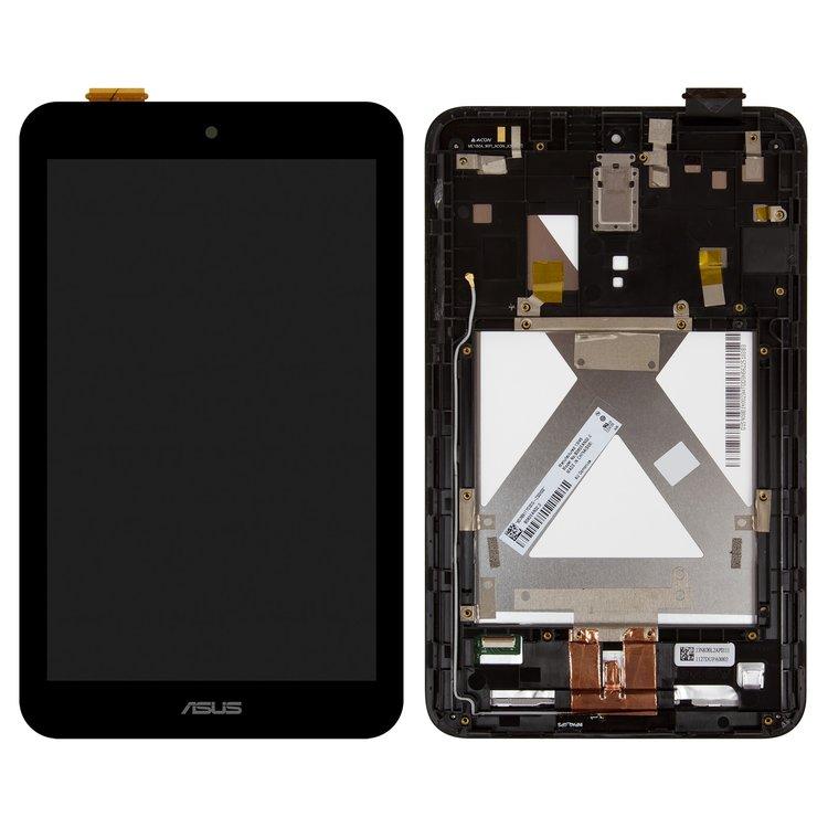 تصویر ال سی دی ممو پد 8 ایسوس مشکی با فریم LCD Asus Memo Pad 8(ME180A) BLACK+FRAME