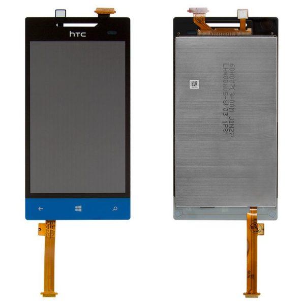 ال سی دی-LCD-for-HTC-A620e-Windows-Phone-8S-Cell-Phone-dark-blue-with-touchscreen