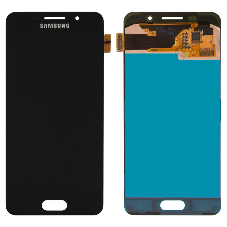 LCD-for-Samsung-A310-Galaxy-A3-2016-Cell-Phone-black-with-touchscreen