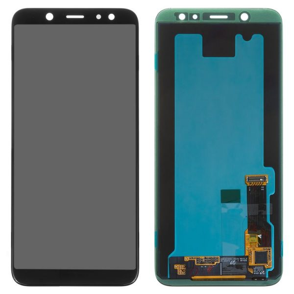LCD-for-Samsung-A600F-Dual-Galaxy-A6-2018-Cell-Phone-black-with-touchscreen-Original-GH97-21897A