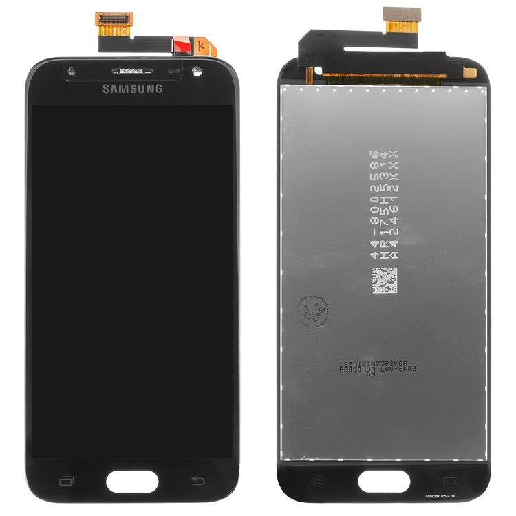 ال سی دی-LCD-for-Samsung-J330F-Galaxy-J3-2017-Cell-Phone-black-with-touchscreen-original-PRC