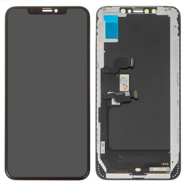 ال سی دی-LCD-iPhone-XS-Max-black-with-touchscreen-with-frame-OLED-High-Copy-original-lcd-copy-glass-copy-flat-cable-copy-touchscreen-Self-welded-OEM