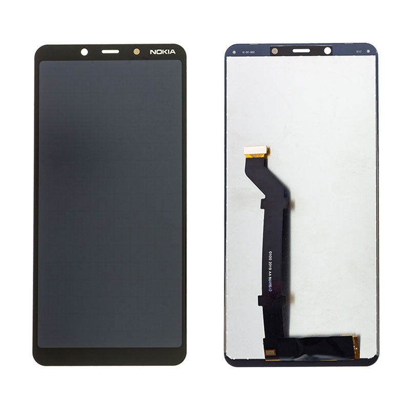 تصویر ال سی دی نوکیا 3.1 پلاس مشکی LCD NOKIA 3.1 PLUS BLACK