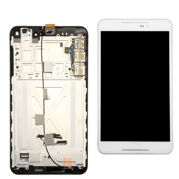 تصویر ال سی دی فون پد 8 سفید با فریم ایسوس LCD Asus Fonepad 8 WHITE+FRAME