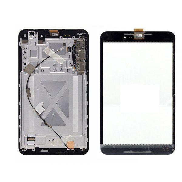 تصویر ال سی دی فون پد 8 مشکی با فریم LCD ASUS FONEPAD 8(FE380CG) BLACK