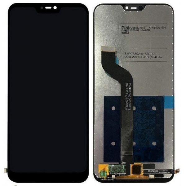 تصویر ال سی دی شیائومی نوت 6پرو مشکی LCD REDMI Note 6 Pro Black XIAOMI
