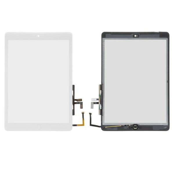 Touchscreen-for-Apple-iPad-Air-iPad-5-Tablet-with-HOME-button-with-flat-cable-white