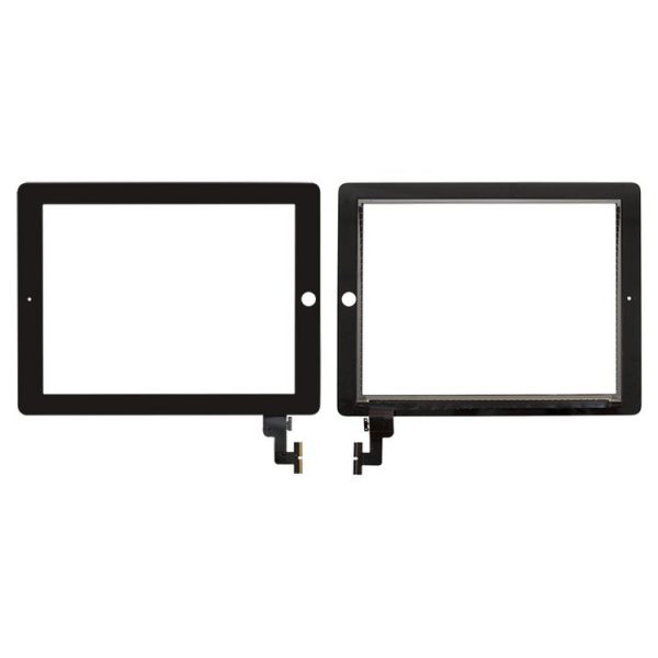 تاچ-Touchscreen-with-Lens-and-Frame-for-Apple-iPad-2-Black