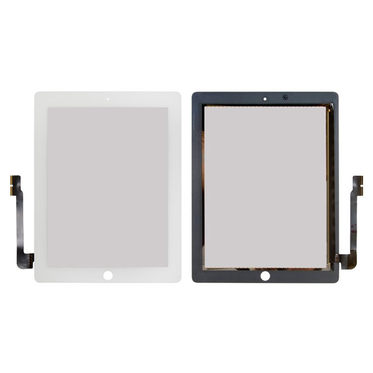 Touchscreen-with-protective-glass-for-Apple-iPad-3-white