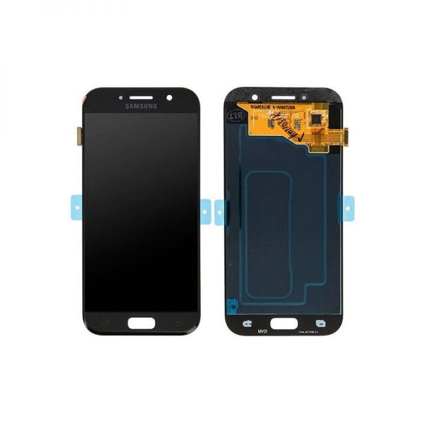 تصویر ال سی دی A520 سامسونگ مشکی(LCD SAMSUNG GALAXY A5.A520(2017