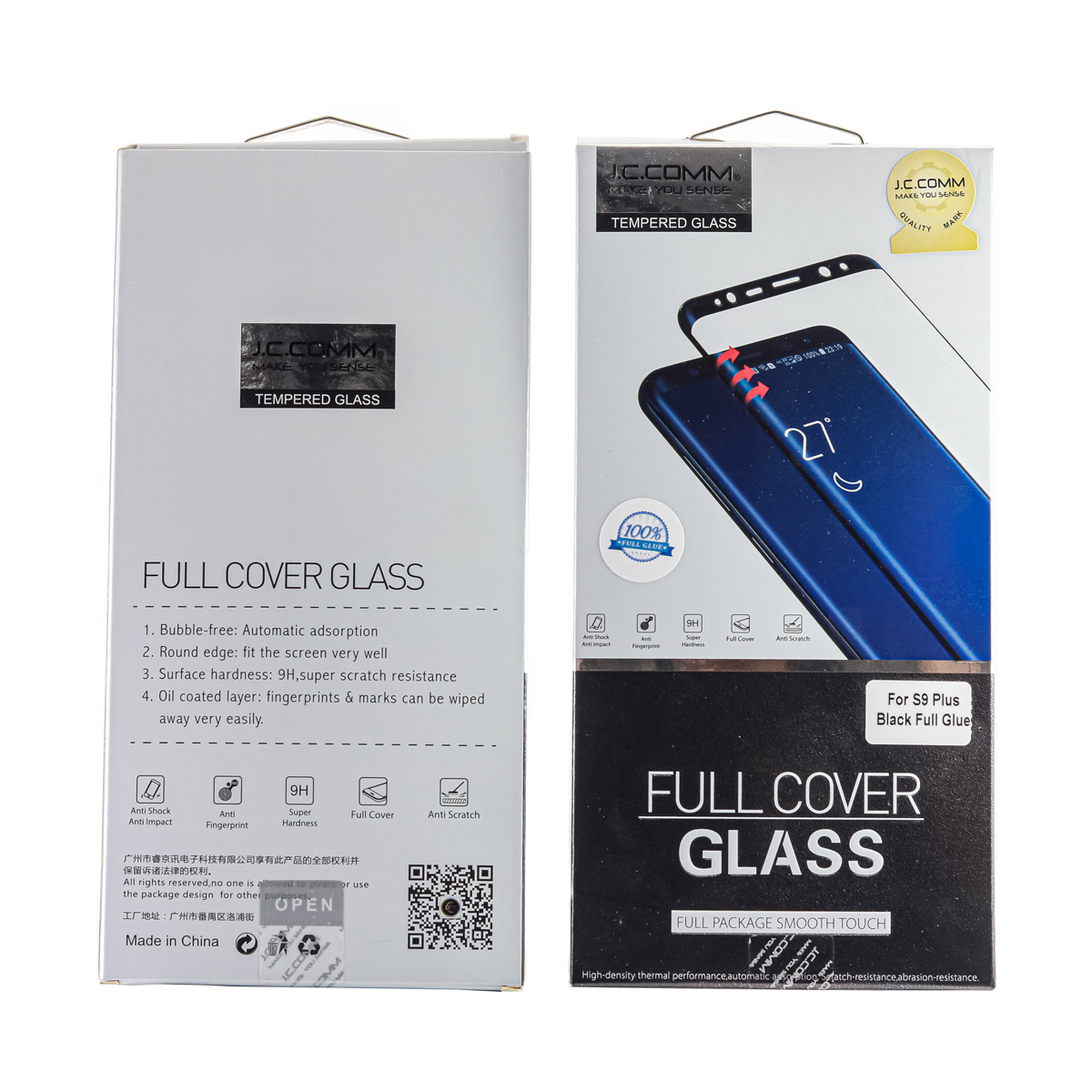 گلس GLASS JCCOMM S9 PLUS