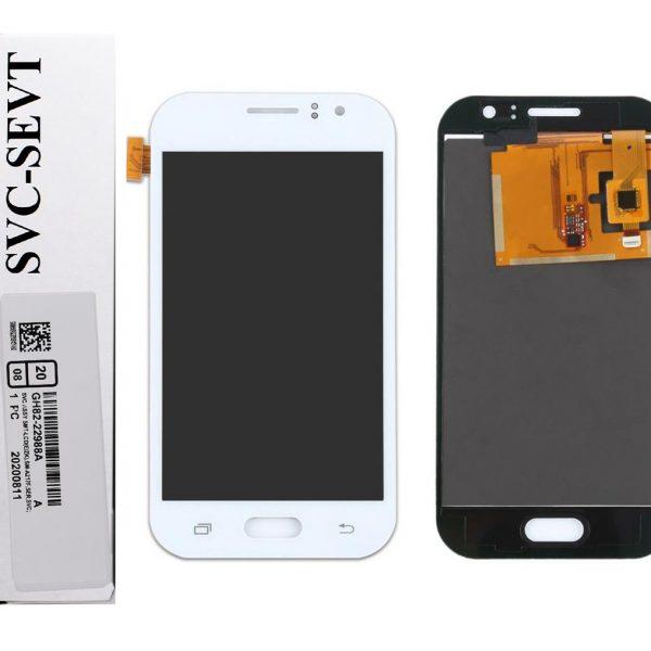 تصویر ال سی دی J1 سامسونگ سفید LCD SAMSUNG GALAXY J1 2016 WHITE