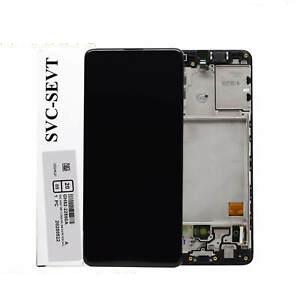 تصویر ال سی دی شرکتی A41 سامسونگ مشکی LCD SAMSUNG A41 BLACK