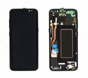 تصویر ال سی دی شرکتی S8 PLUS سامسونگ مشکی LCD SAMSUNG GALAXY S8 PLUS BLACK