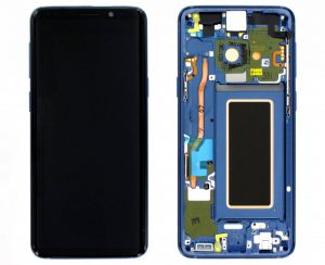 تصویر ال سی دی شرکتی S9 سامسونگ مشکی LCD SAMSUNG GALAXY S9 BLACK
