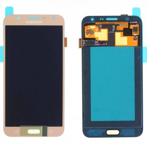 تصویر ال سی دی J7 سامسونگ طلایی شرکتی LCD SAMSUNG GALAXY J7 J700