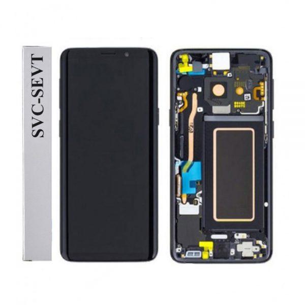 تصویر ال سی دی S9 سامسونگ مشکی LCD SAMSUNG GALAXY S9 BLACK