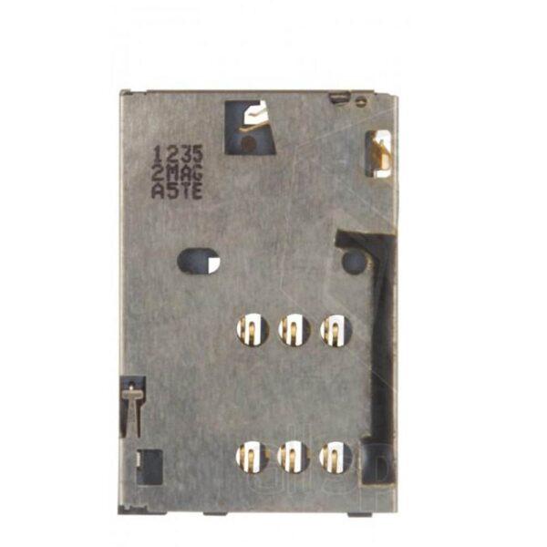 تصویر سوکت سیم کارت C2-03 نوکیا SIM Card Connector C2-03.225.N206.N110