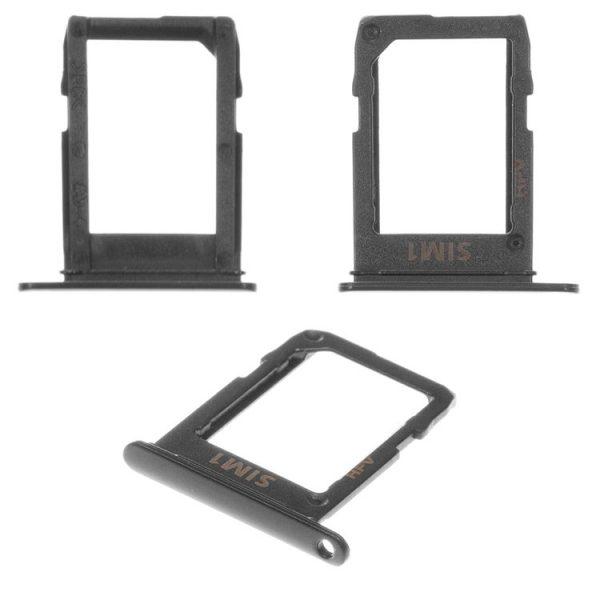 درب-پشت-SIM-Card-Holder-for-Samsung-A600F-Dual-Galaxy-A6-2018-Cell-Phone-black-SIM2-dual-SIM