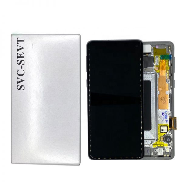 تصویر ال سی دی شرکتی S10 سامسونگ مشکی LCD SAMSUNG S10 BLACK