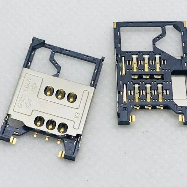 تصویر سوکت سیم کارت 7230 نوکیا SIM Card Connector NOKIA 7230.N202.N203.N300.N311