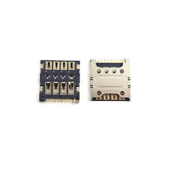 تصویر سوکت سیم کارت G740 هواوی SIM Card Connector HUAWEI G740-Y3 2017-Y600