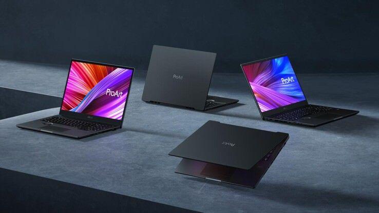 لپ تاپ های جدید ایسوس سری پرو آرت
