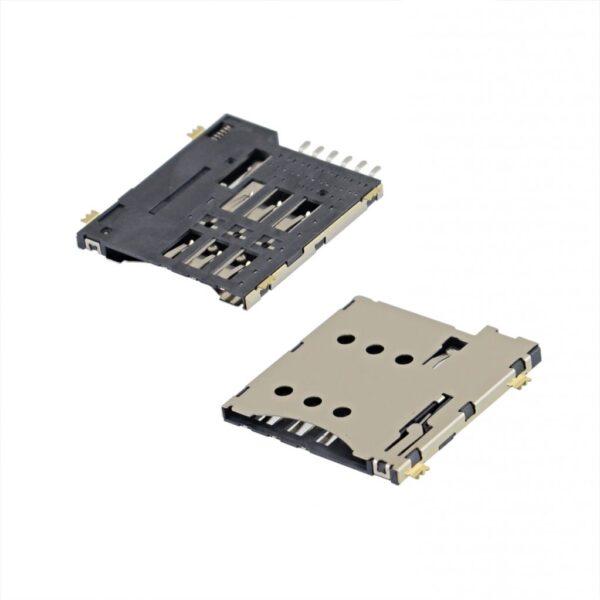 تصویر سوکت سیم کارت 5310 نوکیا SIM Card Connector NOKIA 5310.5220